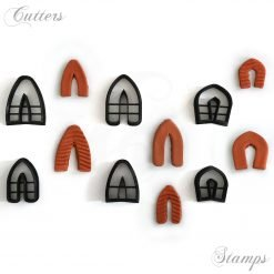 Pointed Arch Clay Cutter