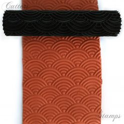 Abstract Ripple Texture Roller