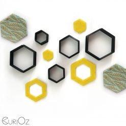 Hexagon Clay Cutter