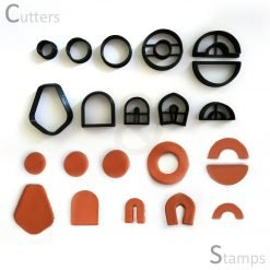 Assorted Earring Clay Cutters - Set 1