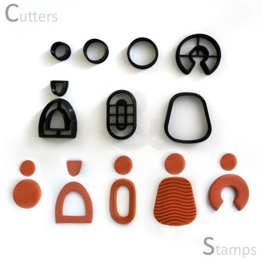 Assorted Earring Clay Cutters Set 2