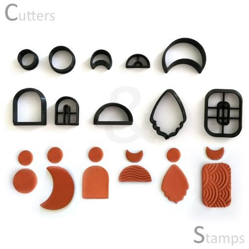 Assorted Clay Cutters - Set 3