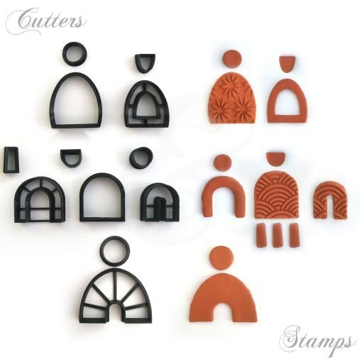 Arch Clay Cutters Set