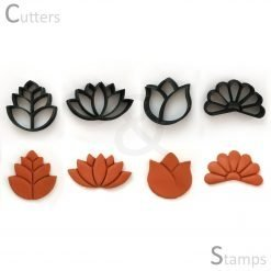 Flower Clay Cutters