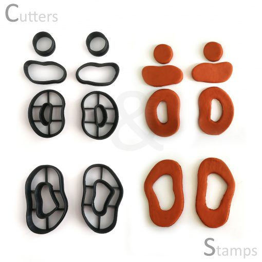 Clay Cutter Shapes Set