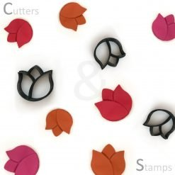 Rose Bud Polymer Clay Cutters