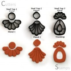 Floral Polymer Clay Cutters