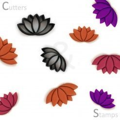 Lotus Polymer Clay Cutters