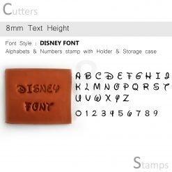 Disney Font Stamps